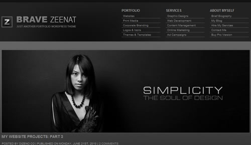 Sm WordPress Theme 67 in 100 Free High Quality WordPress Themes: 2010 Edition