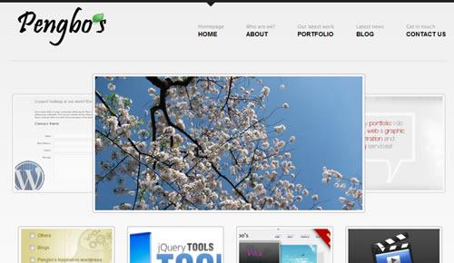 Sm WordPress Theme Ee in 100 Free High Quality WordPress Themes: 2010 Edition