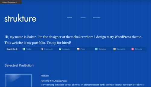 Sm WordPress Theme 06 in 100 Free High Quality WordPress Themes: 2010 Edition
