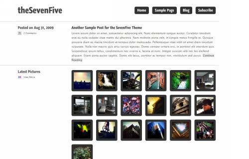 Wordpress-114 in 100 Free High Quality WordPress Themes: 2010 Edition