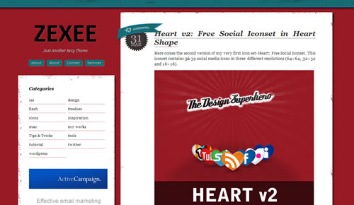 Sm WordPress Theme 09 in 100 Free High Quality WordPress Themes: 2010 Edition