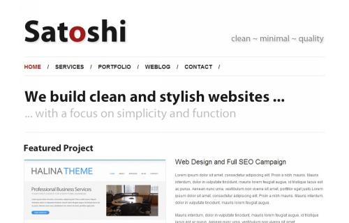 Wordpress-152 in 100 Free High Quality WordPress Themes: 2010 Edition