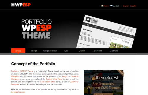 Wordpress-106 in 100 Free High Quality WordPress Themes: 2010 Edition