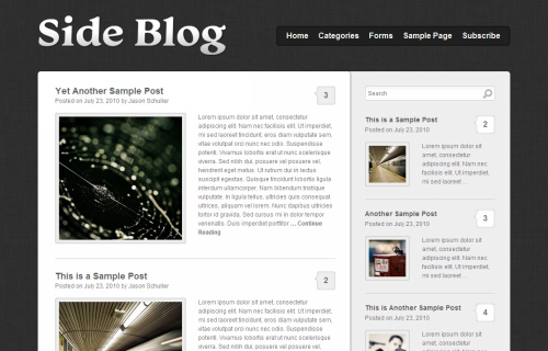 Wordpress-115 in 100 Free High Quality WordPress Themes: 2010 Edition