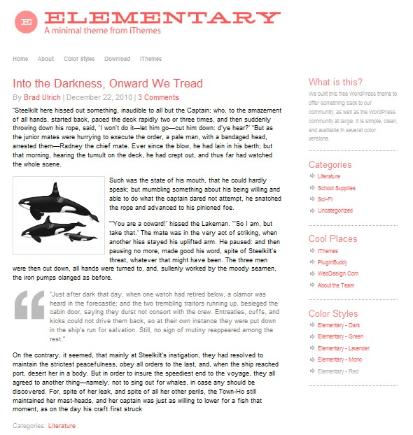 2011 free wordpress theme