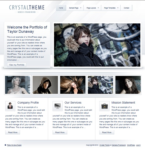 crystaltheme wordpress theme