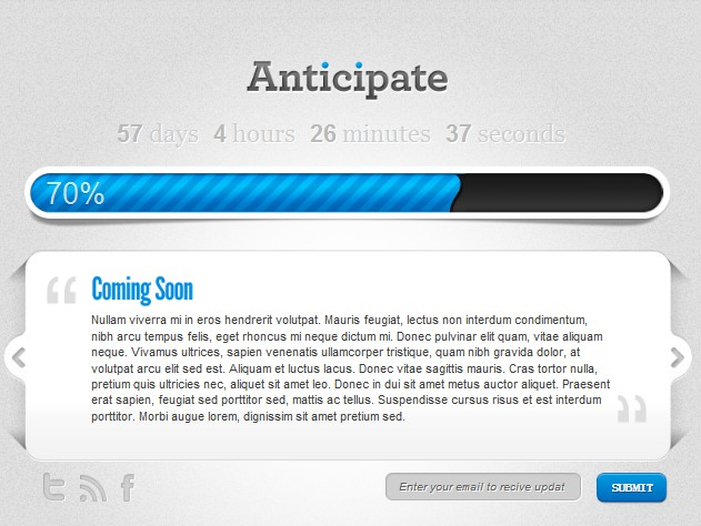 pre-launch wordpress theme