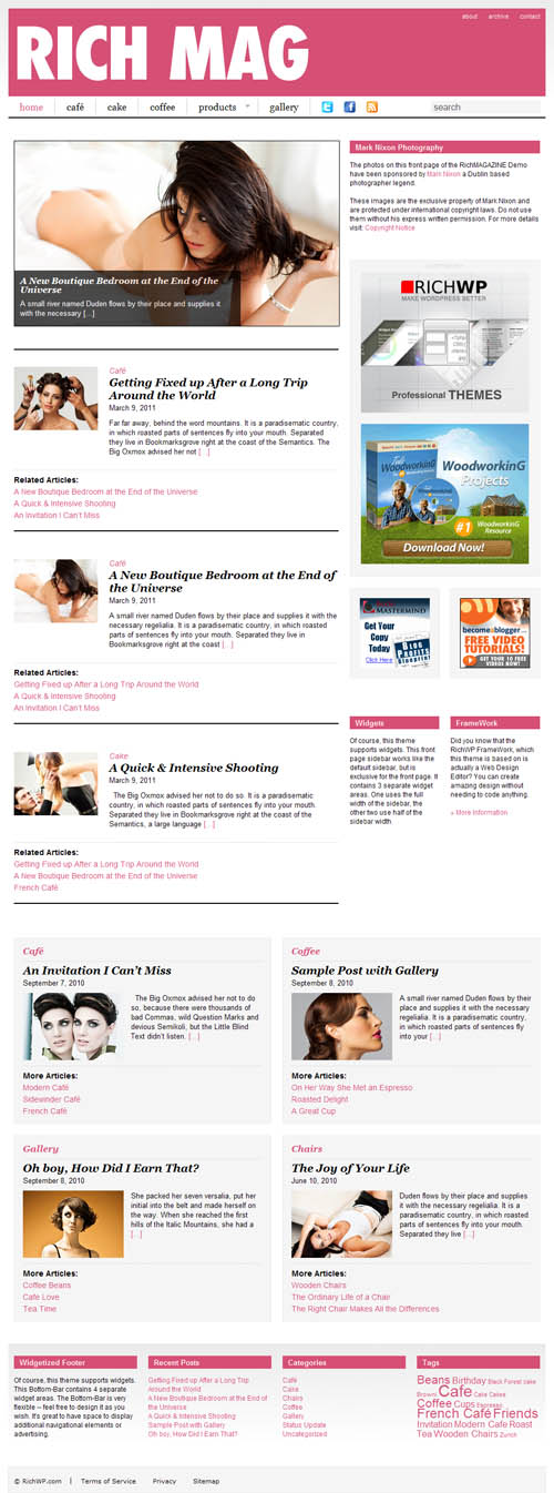 Rich Magazine Premium WordPress Theme