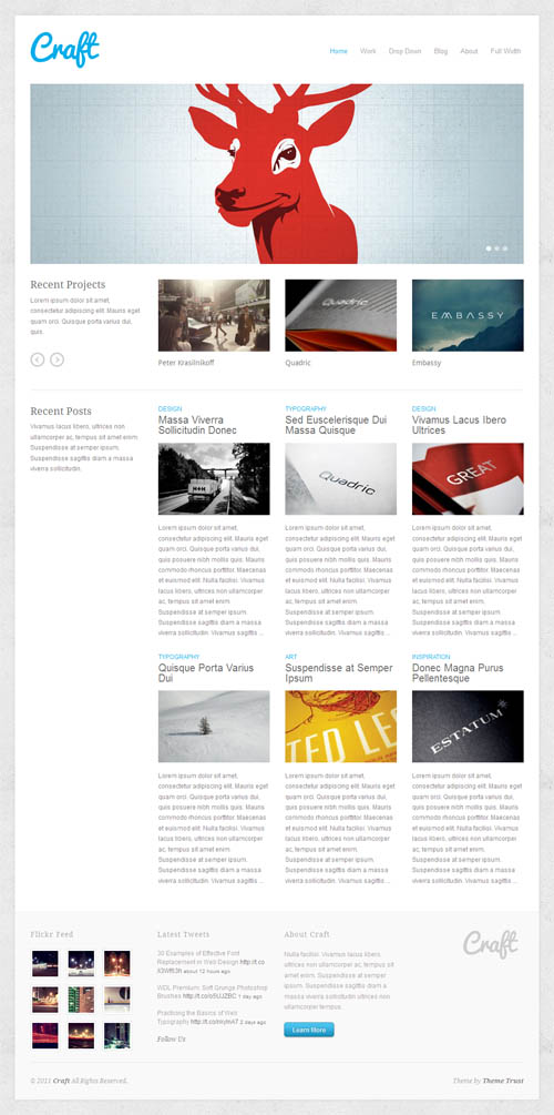 Craft Premium WordPress Theme