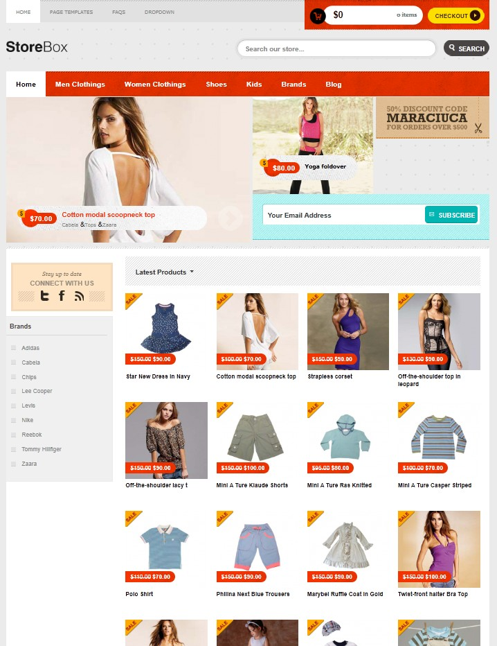 2011 Functional Ecommerce WordPress Theme for Online Stores ...