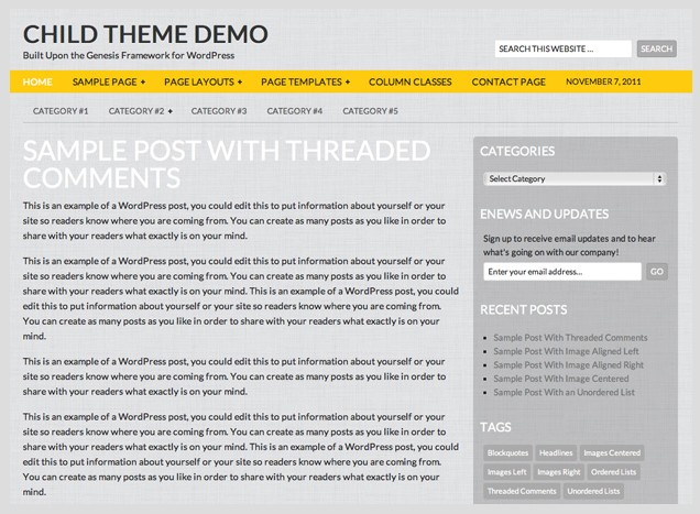 gray free wordpress theme 24k