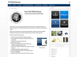 Pagelines Free WordPress Theme: WhiteHouse