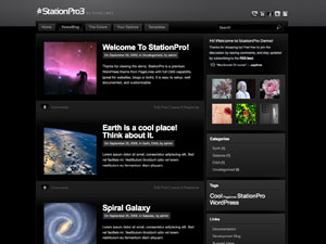 Station Free WordPress Theme from Pagelines