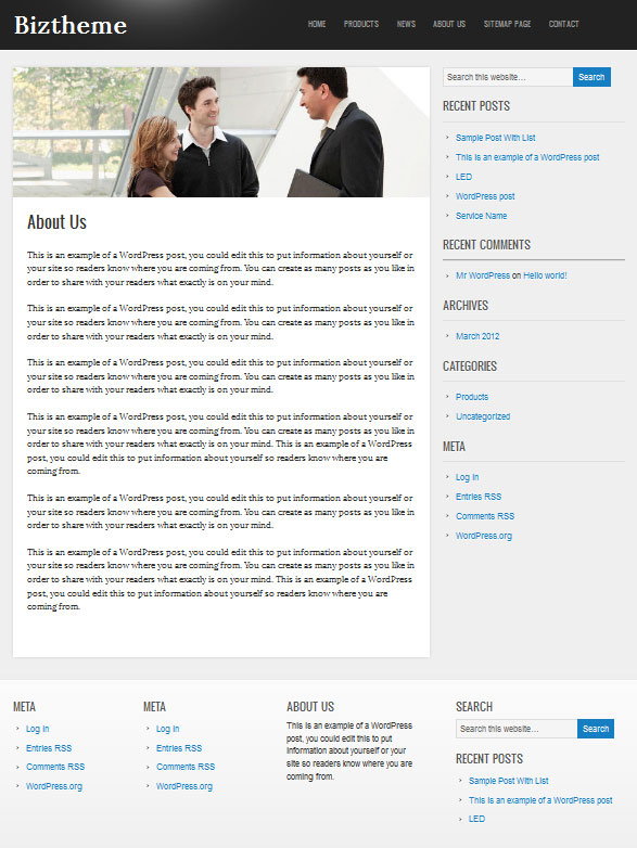 corporate-wordpress-theme-inner-page
