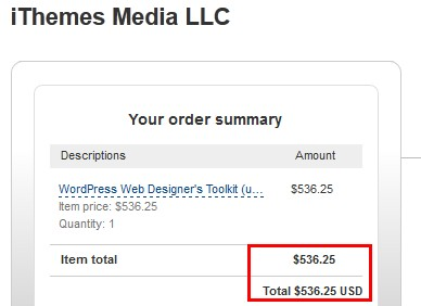 iThemes WordPress Web Designer's Toolkit Coupon Code